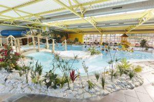5 sterren camping met groot overdekt zwembad in de Vendée