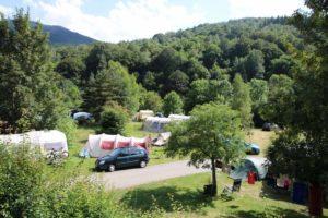 Camping met buitensport acitiviteiten bij de Pyreneeen
