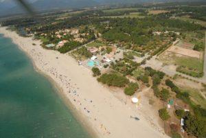 4-sterren Camping met zwembad direct aan strand op Corsica