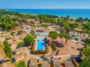 4-sterren camping aan de kust op Corsica