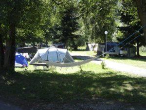 4 sterren camping in de Pyreneeen direct aan een rivier