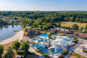 5 sterren camping aan meer in midden frankrijk