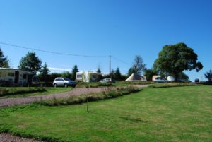 Kleine camping in de Bourgogne