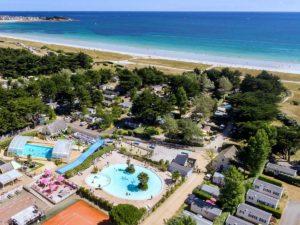 Mooie grote 4 sterren camping in Zuid-Bretagne