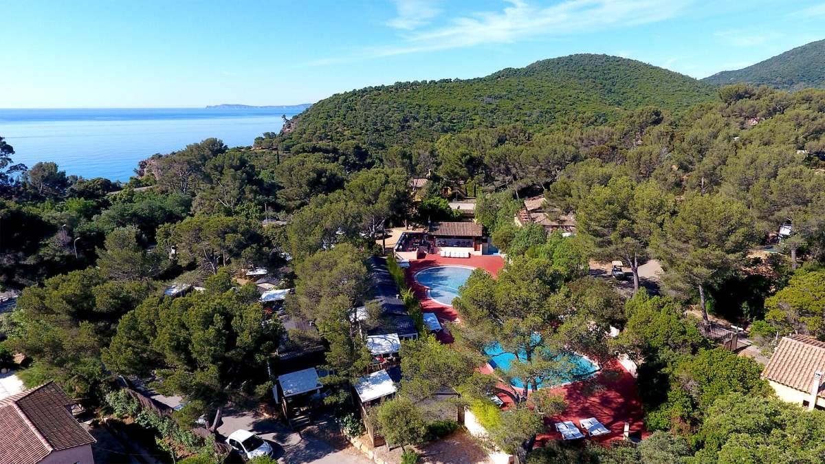 4 sterren camping dichtbij de middellandse zee