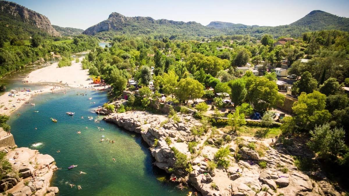 4 sterren camping in Zuid Frankrijk met prive sanitair