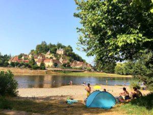 4 sterren camping in de Dordogne direct aan rivier