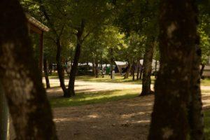 Kleine camping bij Nederlanders in Zuid Frankrijk met prive sanitair
