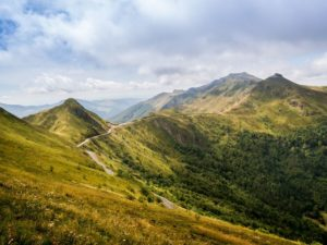 Kleine camping bij Nederlanders in de Auvergne