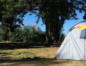 3-sterren camping met verwarmd zwembad in de alpen