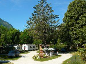 3-sterren camping in centrum Castellane