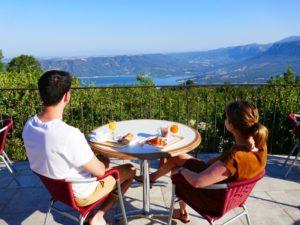 camping met mooiste uitzicht in Zuid Frankrijk