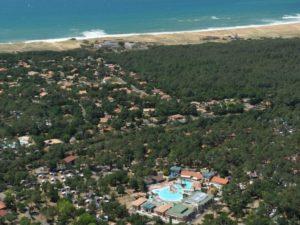 5-sterren camping aan de kust in Frankrijk