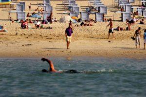 camping direct aan het strand in Zuid-West Frankrijk