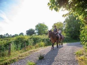 paardrijden camping in Frankrijk Nederlandse eigenaren