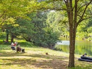 4 sterren camping direct aan rivier in Zuid-Frankrijk