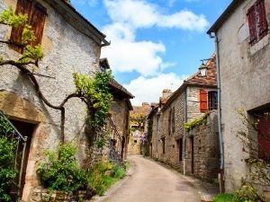 Campings op loopafstand van een dorp of stadje in Frankrijk