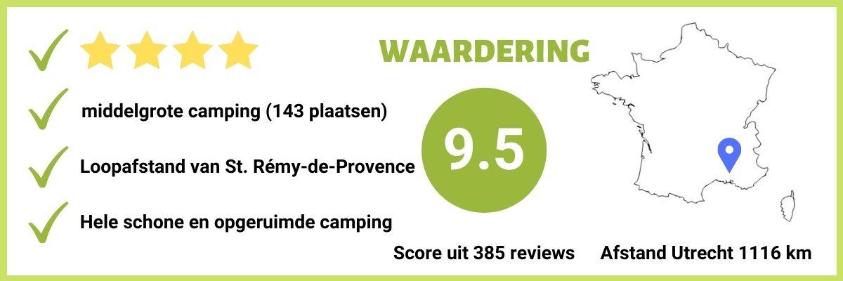 Goed scorende 4-sterren camping in Zuid-Frankrijk